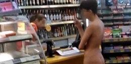 Polka przyszła nago do sklepu!