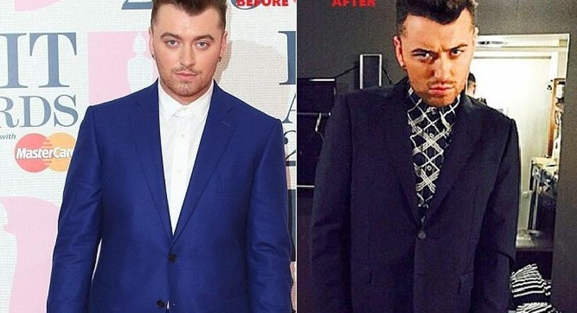 Sam Smith looses 14 pounds in two weeks