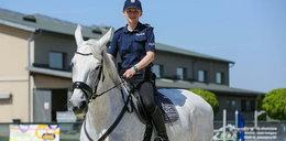 Policjantka zakochana w koniach. Marzy o tym, by założyć własną stajnię