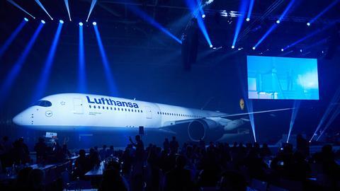 Premiera nowego Airbusa A350-900 w barwach Lufthansy