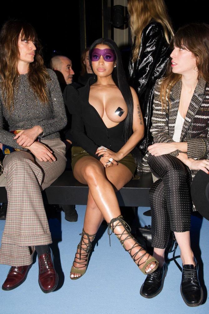 Niki Minaž na nedelji mode u Parizu