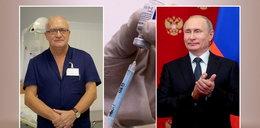 """Słynny zakaźnik przestrzega rząd przed Sputnikiem V. """"Nie ufam rosyjskim badaniom"""""""