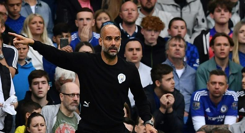 Pep Guardiola's Manchester City were back to their best at Stamford Bridge Creator: Ben STANSALL