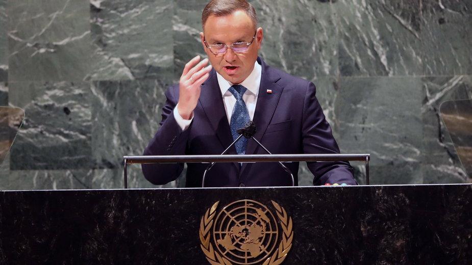 Prezydent Duda: reżim na Białorusi prowadzi atak hybrydowy na granice Polski, Łotwy i Litwy; nie zgadzamy się na instrumentalne traktowanie migrantów