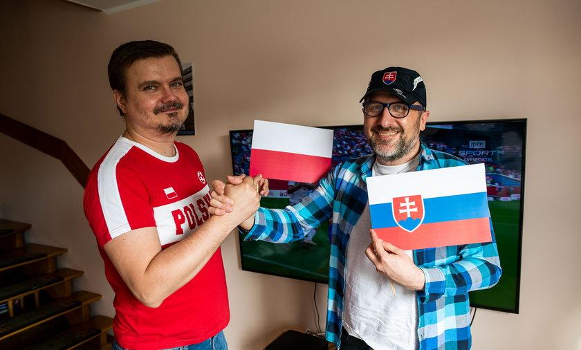 Polak i Słowak będą kibicowali wspólnie.