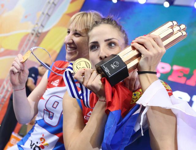 Brankica Mihajlović i Tijana Malešević