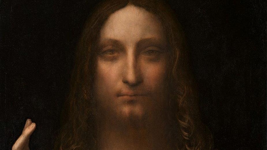 """Leonardo da Vinci, """"Zbawiciel świata"""""""