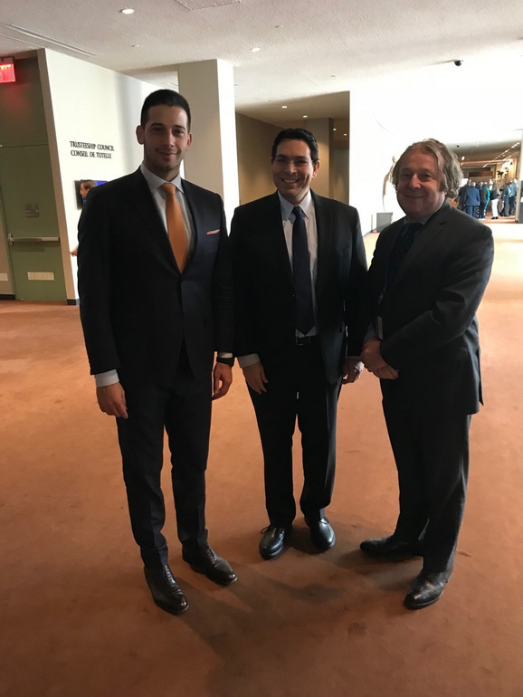 Ministar Udovičić i ambasador Izraela u UN