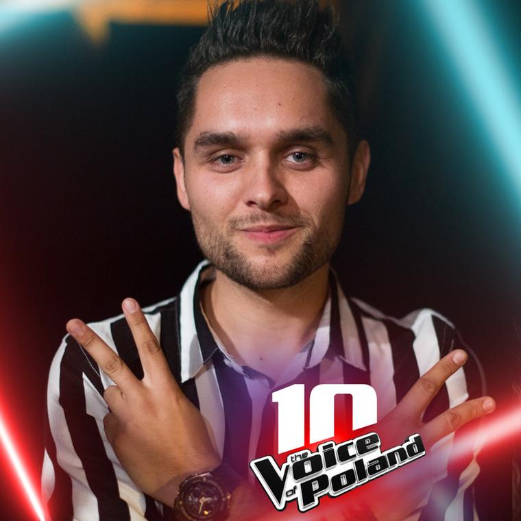 "Damian Kulej w programie ""The Voice of Poland 10"""