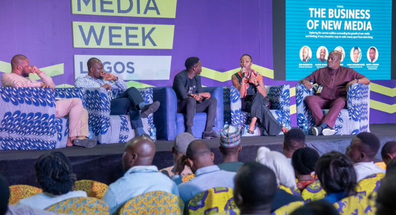 Panelists at the Business Insider by Pulse's Social Media Week Lagos 2019 session