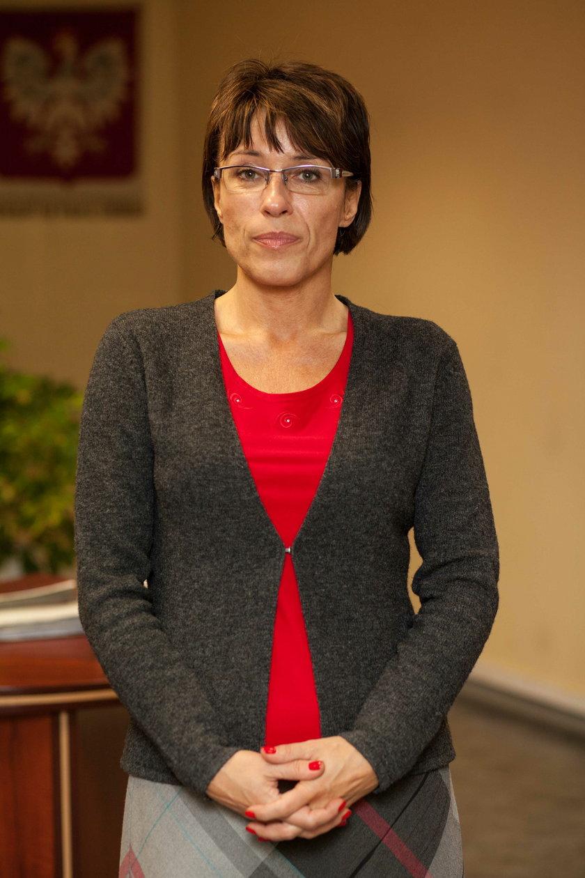 Prokurator Agata Słuszniak z Prokuratury Rejonowej w Tychach