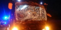Wypadek autokaru z piłkarzami! 10 sportowców rannych!