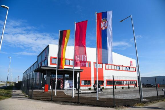 "Fabrika nemačke kompanije ""B+B Thermo-Technik GmbH"" u Subotici"