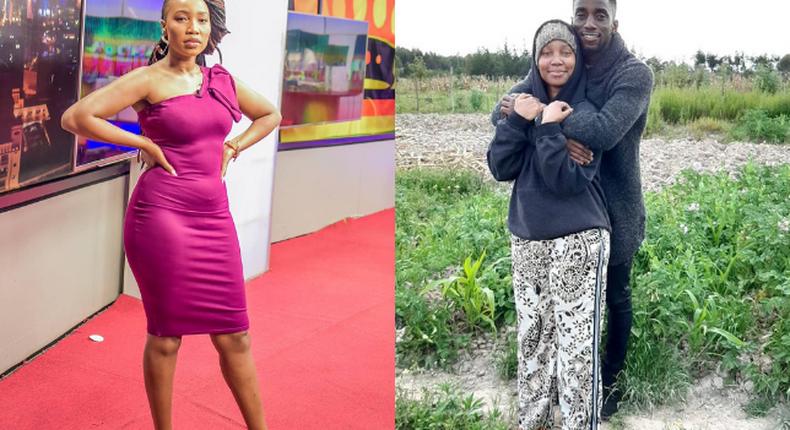 NTV's Miss Katiwa confirms relationship with Harambee Stars's Arnold Oringi (Photos)