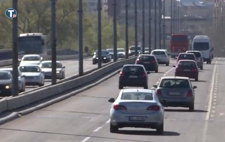 Kolone automobila u Beogradu