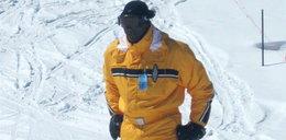 Z drogi śledzie bo Jordan jedzie! Na... nartach