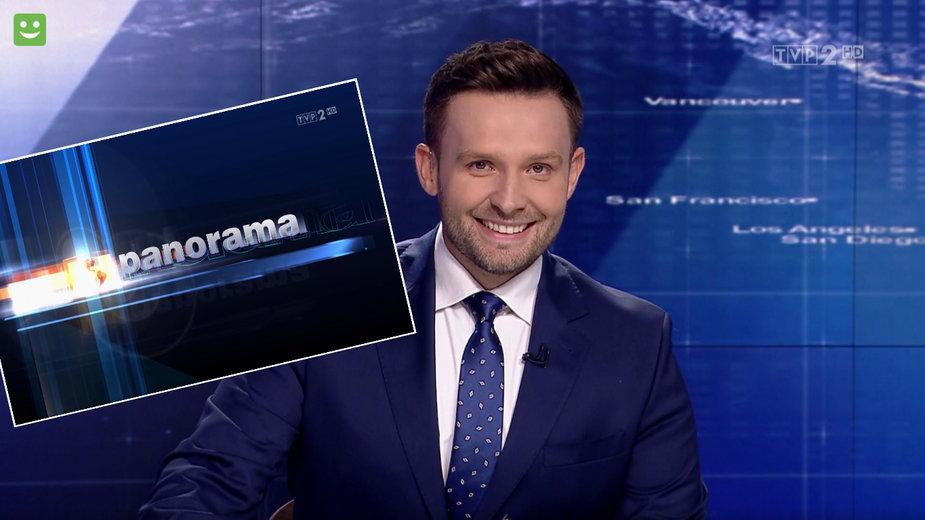 """Karol Gnat w programie """"Panorama"""""""