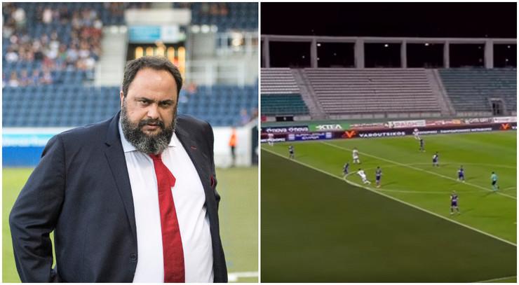 Evangelos Marinakis, FK Olimpijakos