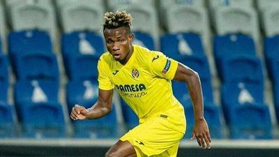 Samuel Chukwueze had a good performance against Real Madrid on Saturday (Twitter/Villarreal)