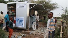 Kiosk zasilany energią słoneczną