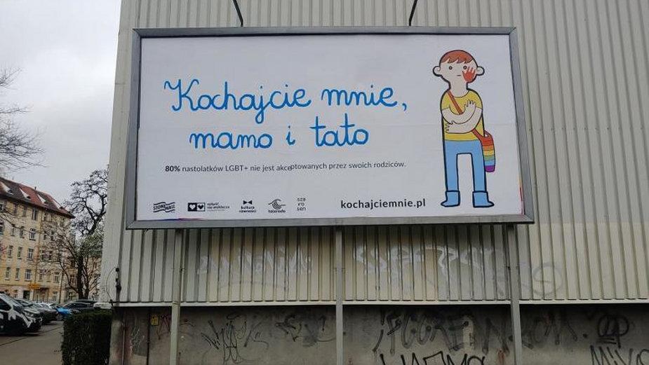 Billboard we Wrocławiu