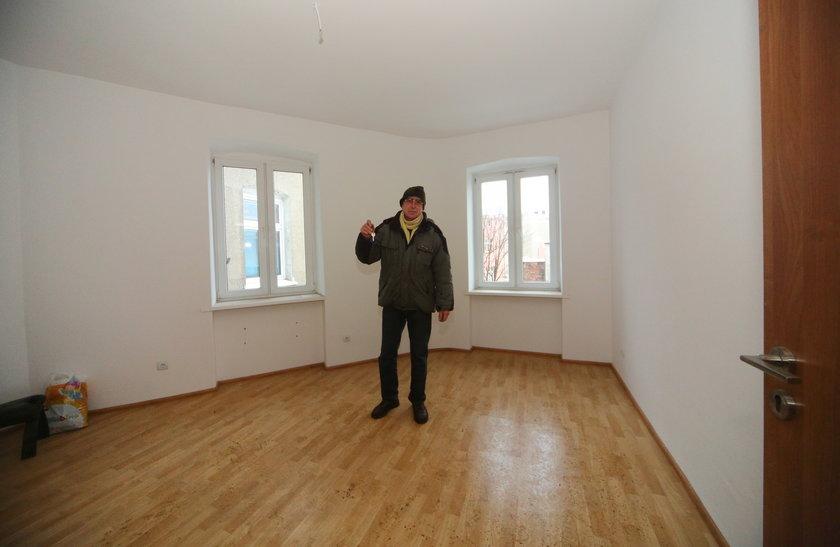 Nowe mieszkanie Grzegorza Gołembiewskiego