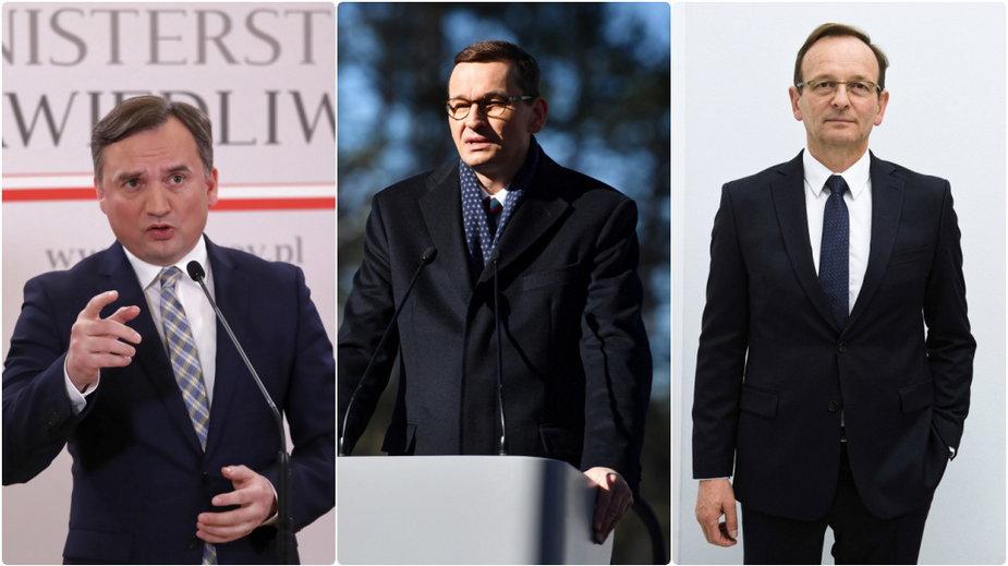 Zbigniew Ziobro, Mateusz Morawiecki i Edward Siarka