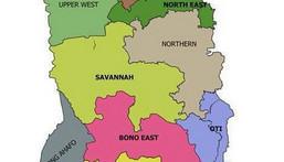 New regions after referendum