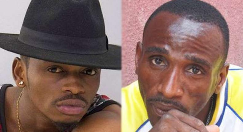 Diamond and his Father. Mzee Abdul asks Diamond to buy him a house and set up a business for him.