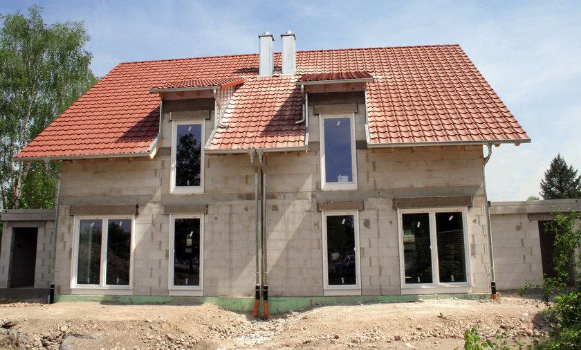 Budowa domu.
