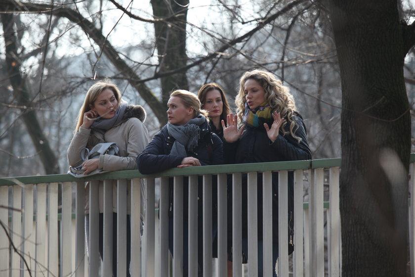 Przyjaciółki - Joanna Liszowska, Małgorzata Socha, Anita Sokołowska i Magdalena Stużyńska