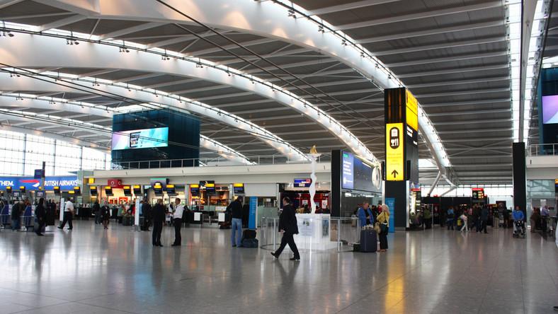 lotnisko, Londyn, Heathrow