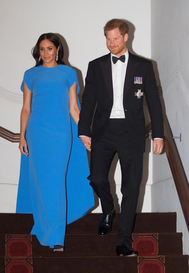 Megan Markl i princ Hari na Fidžiju