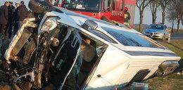 Wypadek busa wiozącego polskie dzieci. Są ranni