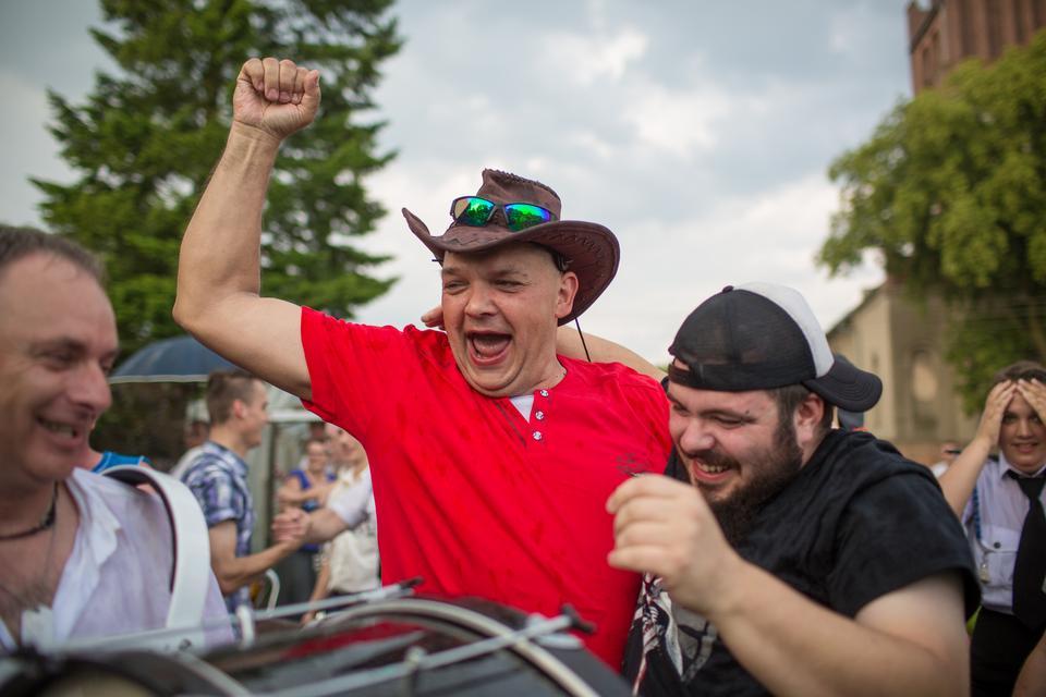 Jak Bysławek cieszył się z wygranej nad Szwajcarią