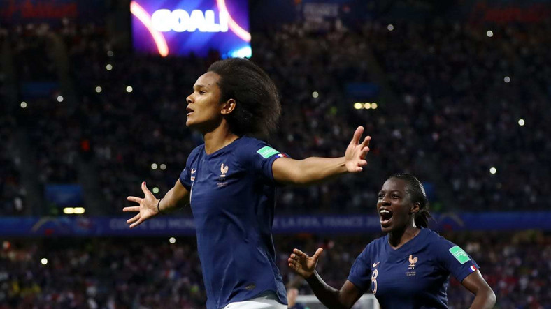 Wendie Renard's goal from the penalty spot was all France needed to beat Nigeria (Getty Images)