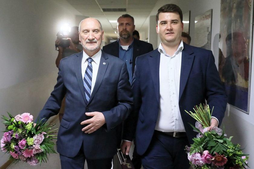 Antoni Maciereiwcz i Bartłomiej Misiewicz