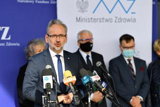 Niedzielski o 'eksplozji pandemii' w Polsce. Zapowiada dodatkowe kontrole sanepidu i policji