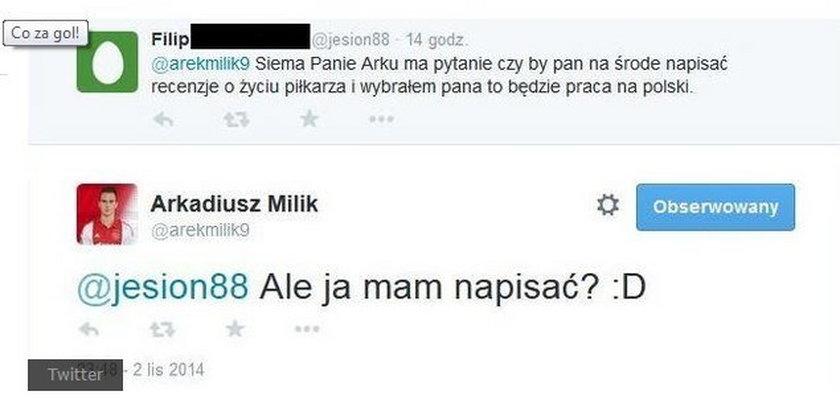 Nietypowa prośba do bohatera Polaków!