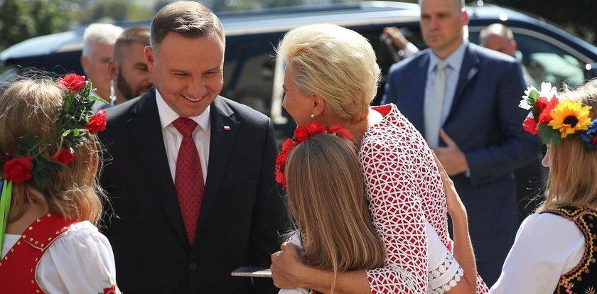 Para prezydencka w USA. Dziś wyjdą do Polonii