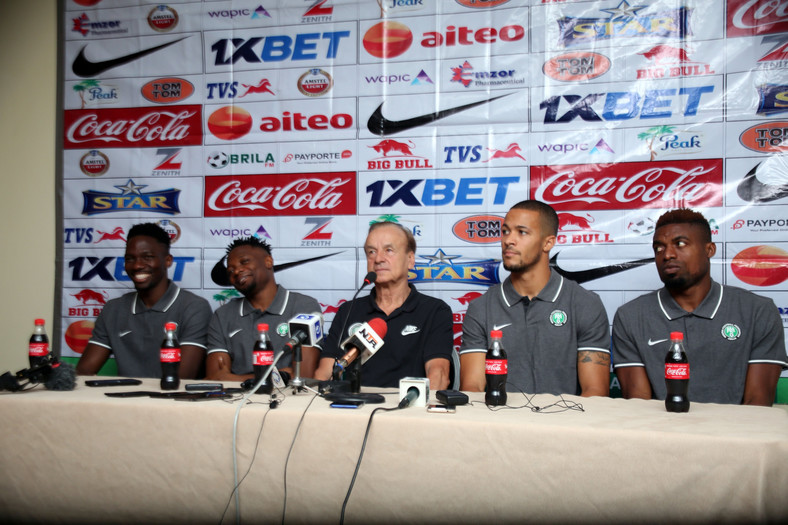 Gernot Rohr maintains the best players do not play in the NPFL (Twitter/Super Eagles)
