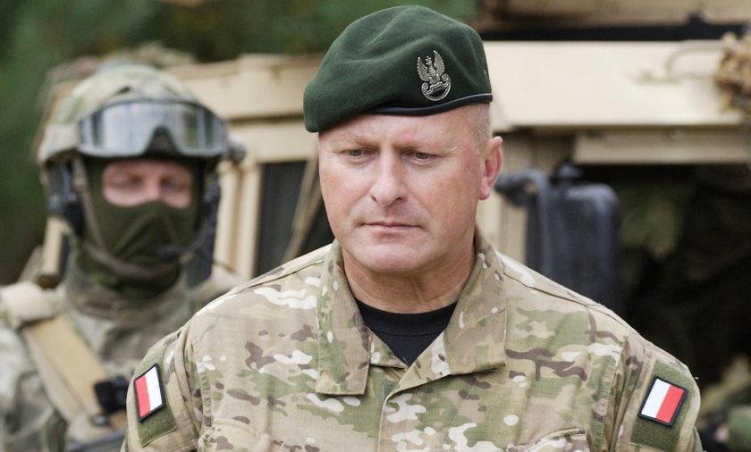 Gen. Jerzy Gut podał się do dymisji.