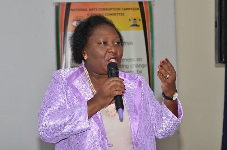 Maendeleo ya Wanawake National Chairperson Susan Owino