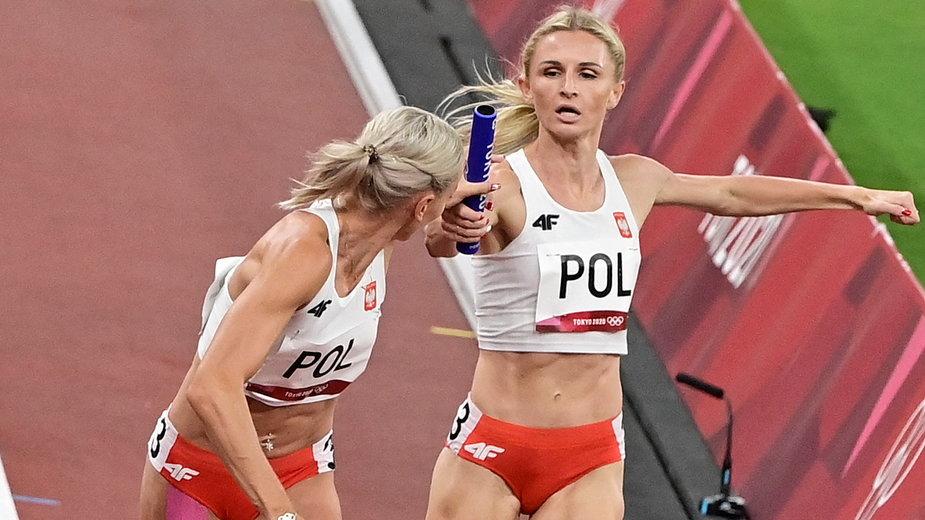 Polska sztafeta 4x400 m