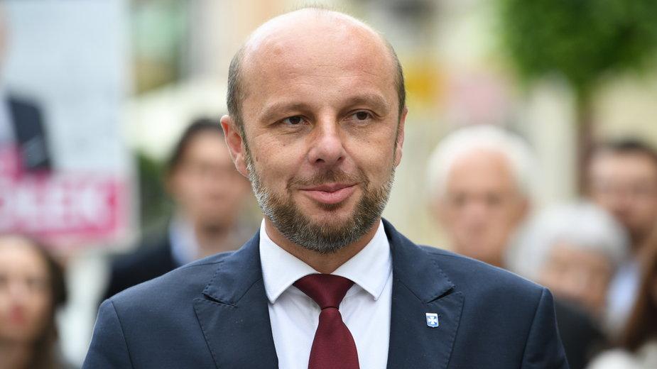 Kandydat na prezydenta Rzeszowa Konrad Fijołek