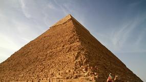 Nastolatek wspiął się na sam szczyt 4500-letniej piramidy