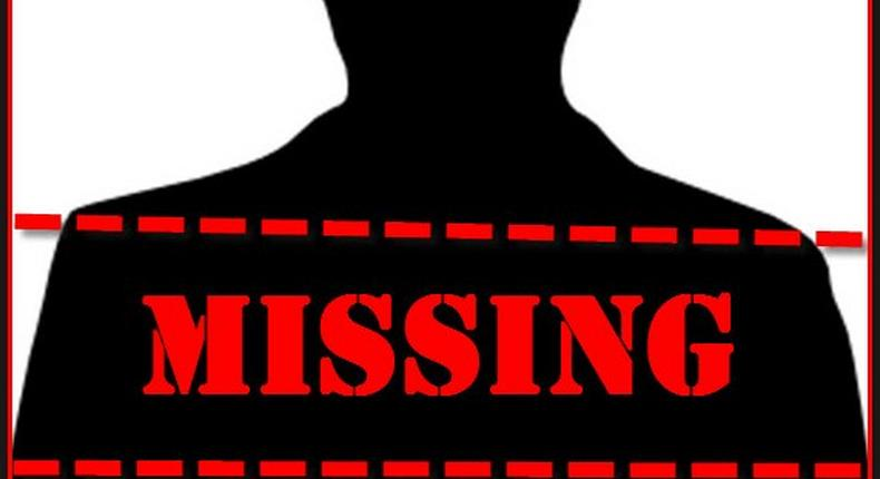 Stock graphic of a missing person