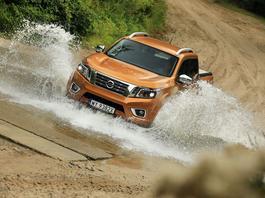 Nissan Navara 2.3 dCi - wygodny jak nie pikap