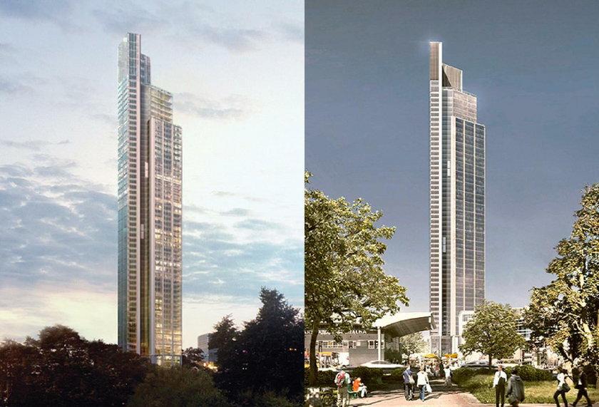 Varso Tower (wizualizacja projektu)