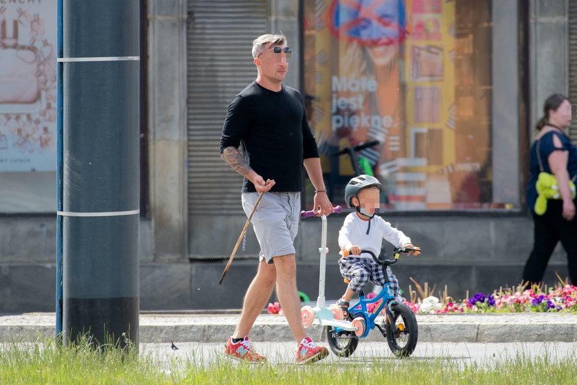 Mąż Mai Bohosiewicz z synem